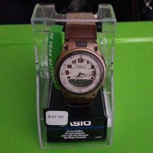 Mens Casio Watch - Tan